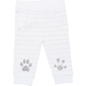 Frogs and Dogs meisjes broek white