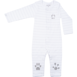 Frogs and Dogs jongens onesie white