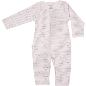 Frogs and Dogs meisjes onesie pink
