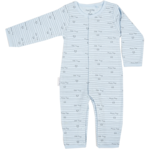 Frogs and Dogs jongens onesie blue