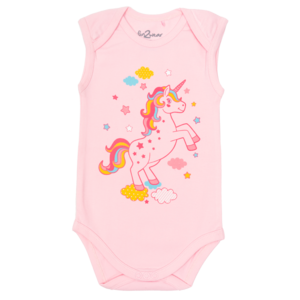 FUN2WEAR meisjes romper rose shadow unicorn