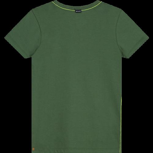 Quapi Quapi jongens t-shirt jungle green alexio