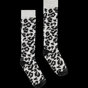 Quapi meisjes sokken dark grey leopard april