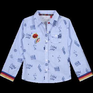 Quapi meisjes blouse berry blue aluna