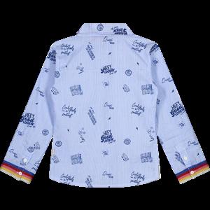 Quapi Quapi meisjes blouse berry blue aluna