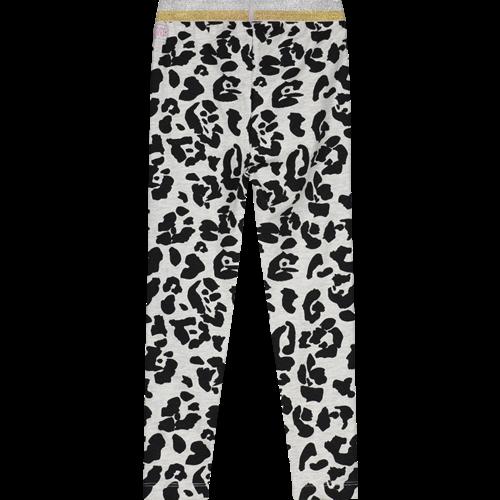 Quapi QUAPI meisjes legging dark grey leopard annebel