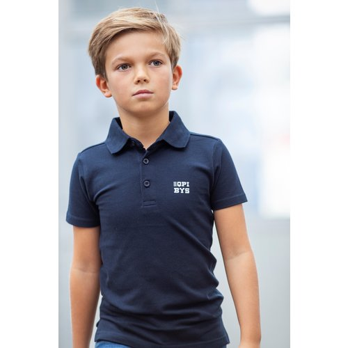 Quapi Quapi jongens polo dark navy jan nos