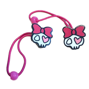 meisjes haarstiekjes roze hartjes tand 2-pack