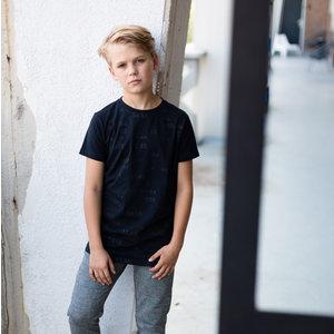LEVV jongens t-shirt black