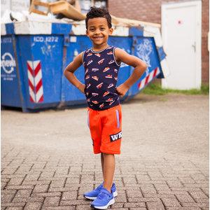B'chill jongens korte joggingbroek orange noah
