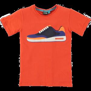 B'chill jongens t-shirt orange pieter