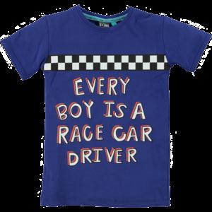 B'chill B'Chill jongens t-shirt blue quinten