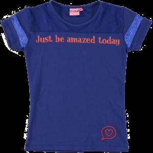 O'Chill meisjes t-shirt blue dylana