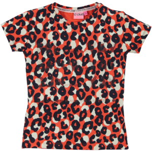 O'Chill meisjes t-shirt multi color heleen
