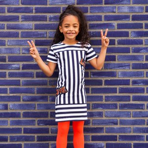 O'Chill meisjes jurk multi color enolia