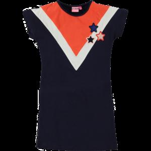 O'Chill meisjes jurk navy dagmar