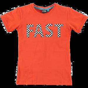 B'chill jongens t-shirt orange michael