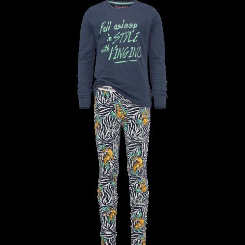 VINGINO Vingino meisjes pyjama set dark blue wianna