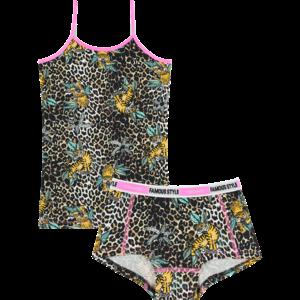 VINGINO meisjes ondergoed set multicolor brown wildone