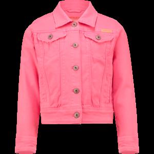 VINGINO meisjes spijkerjack neon pink toscane