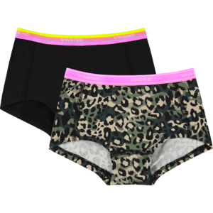 VINGINO meisjes 2-pack hipster multicolor army green junglerules