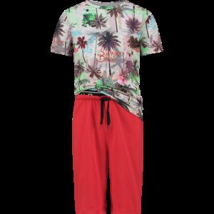VINGINO jongens pyjama set blast red woody