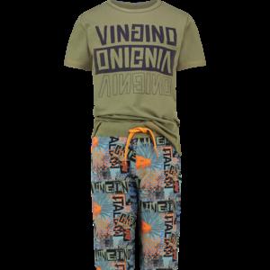 VINGINO jongens pyjama set olive green wayne