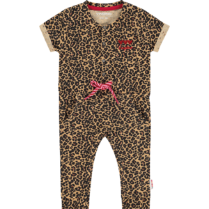 VINGINO meisjes jumpsuit multicolor brown plisa