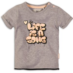 KOKO NOKO meisjes t-shirt grey melee