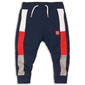KOKO NOKO jongens joggingbroek navy red grey melee
