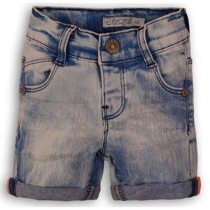 DIRKJE BABYKLEDING jongens korte broek light blue jeans
