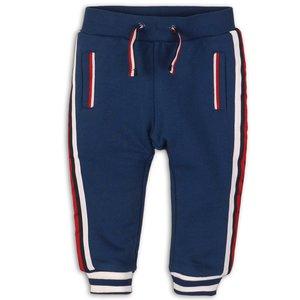 DIRKJE BABYKLEDING jongens joggingbroek mid blue red white