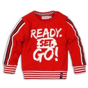 DIRKJE BABYKLEDING jongens trui red