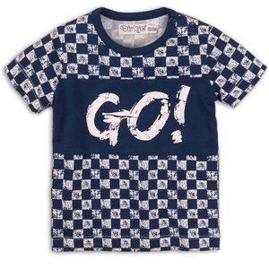 DIRKJE BABYKLEDING jongens t-shirt mid blue