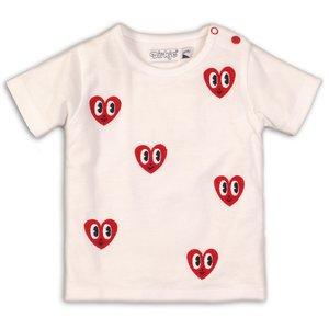 DIRKJE BABYKLEDING meisjes t-shirt white