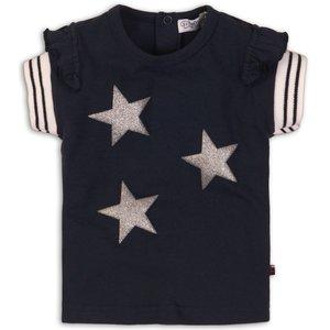 DIRKJE BABYKLEDING meisjes t-shirt navy