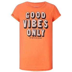 RETOUR DENIM DE LUXE meisjes t-shirt neon coral maribelle