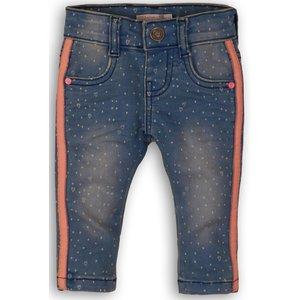 DIRKJE BABYKLEDING meisjes jeans broek blue jeans