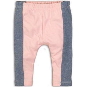 DIRKJE BABYKLEDING meisjes 3/4 legging light blue melee light pink