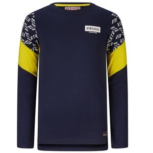 RETOUR DENIM DE LUXE jongens t-shirt dark navy eloy