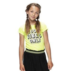 RETOUR DENIM DE LUXE meisjes t-shirt neon yellow maribelle