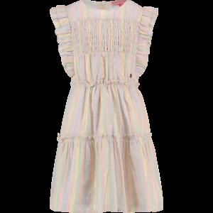 VINGINO meisjes jurk multicolour off white pateria