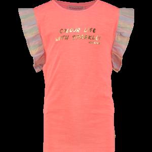 VINGINO meisjes t-shirt neon peach hivae