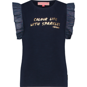 VINGINO meisjes t-shirt dark blue hivae