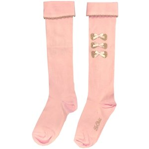 LE CHIC meisjes kniesokken pretty in pink