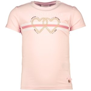 LE CHIC meisjes t-shirt pretty in pink