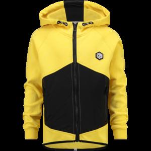VINGINO jongens vest daley yellow oltian