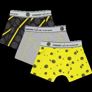 VINGINO jongens boxer daley yellow 3-pack