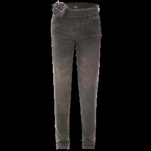 DUTCH DREAM DENIM meisjes power stretch skinny jeans grey kuzidi