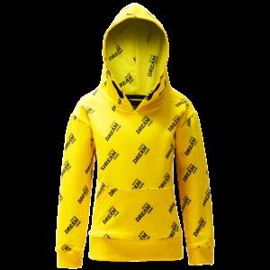 DUTCH DREAM DENIM jongens hoodie yellow visiwa